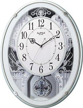 リズム時計 (192M081)スモールワールド プラウド 緑メタリック【smtb-s】
