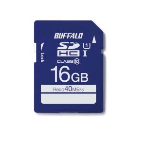 バッファロー RSDC-016GU1S UHS-I Class1 SDカード 16GB(RSDC-016GU1S)
