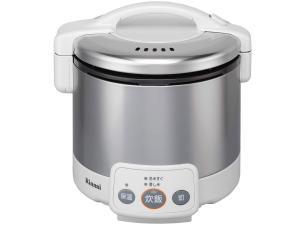リンナイ ガス炊飯器 グレイッシュホワイトRinnai こがまる 3合 RR-030VM(W) 13A(都市ガス)【smtb-s】