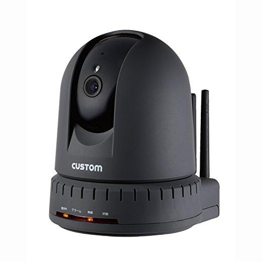 カスタム 温湿度計センサー付IPカメラ 屋内用 IPC-01TH (4494bt)【smtb-s】