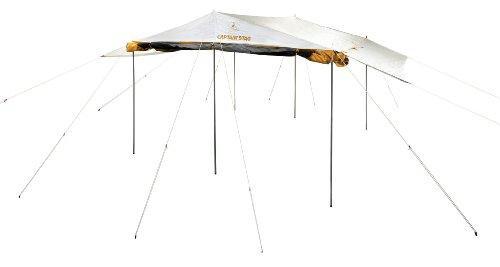 パール金属 キャプテンスタッグ BBQ用 テント タープ キャノピー付き サンシェード レジーナメッシュ M-3166【smtb-s】