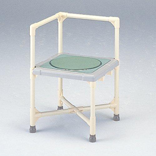 矢崎化工 シャワーイスL型ターンテーブル付 CAT-0101  440X440X670(高400)【smtb-s】