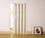 フルネス パネルドアクレア(窓付きタイプ) 約幅99×高さ174cm L5006・ホワイトウッド (2764am)【smtb-s】