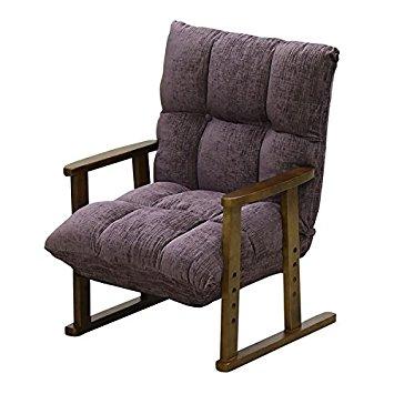 大商産業 高座椅子 パープル A23064 NA-062PA【smtb-s】