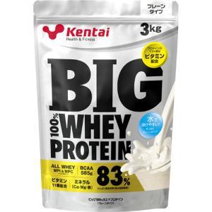 健康体力研究所 Kentai(ケンタイ) ビッグ 100%ホエイプロテイン プレーンタイプ 3kg【smtb-s】