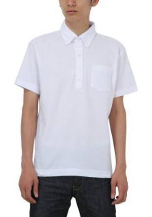 Printstar(プリントスター) (プリントスター)Printstar 5.3オンス スタンダードボタンダウンポロシャツ(ポケット付) 00225-SBP 001 ホワイト 03 L