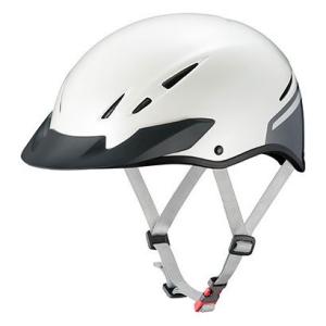 OGK ヘルメット エレキャップ パールホワイト XL【沖縄・離島への配送不可】