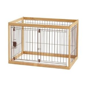 Richell(リッチェル) 木製ペットサークル 90-60 小型犬・中型犬用 【ナチュラル】 (ha048)【smtb-s】