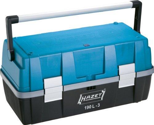 HAZET(ハゼット) HAZET パーツケース付ツールボックス 190L3 4392744