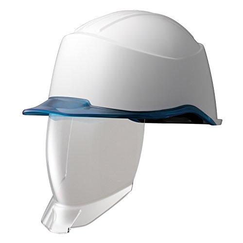 ミドリ安全 PC製ヘルメット フェイスシールド付 多機能タイプ SC15PCLNSRA2KPWBL【smtb-s】