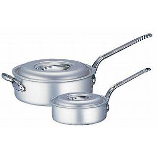 『 片手鍋 』片手鍋 アルミ マイスター片手浅型鍋 21cm