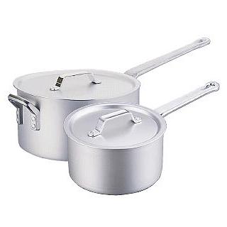 『 片手鍋 』片手鍋 業務用 アルミ SS21片手鍋[目盛付] 24cm