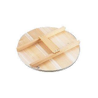 【まとめ買い10個セット品】厚手サワラH型取手木蓋 42cm用