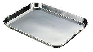 【まとめ買い10個セット品】『 ディスプレーバット 調理バット 』 18-8肉バット 小