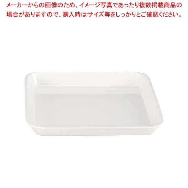 【まとめ買い10個セット品】 メラミン デリカバット(大)白 尺1.5寸 【ECJ】【 ディスプレイ用品 】