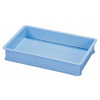 【まとめ買い10個セット品】サンコー PP大型カラー番重 B型 ブルー