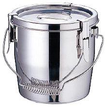 【まとめ買い10個セット品】SAモリブデン フック脱着式汁食缶 21cm 【ECJ】