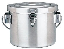 【 コンテナ 】 18-8真空断熱容器[シャトルドラム] GBC-04