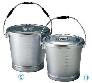 【まとめ買い10個セット品】アルマイト 丸型一重食缶 211 (6l) 【ECJ】