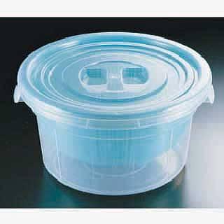 【まとめ買い10個セット品】『 ザル カゴ 揚げザル プラスチックざる 』 ざるコン丸 ZC-1