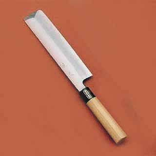 【 薄刃包丁 】 SA佐文 [木製サヤ付] 19.5cm[片刃]