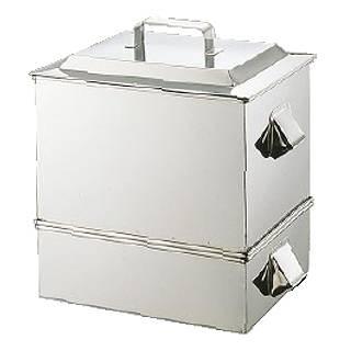 『 角蒸し器 』SA21-0ステンレス製 うなぎ蒸器 小