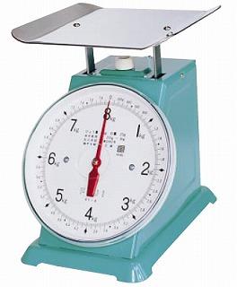 『 業務用秤 アナログ 』フジ 上皿自動ハカリ K-1型 10kg [並皿付]