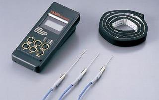 『 温度計 温度センサータイプ 』ハンナ 真空調理用芯温度計セット [本体 HI-9063]