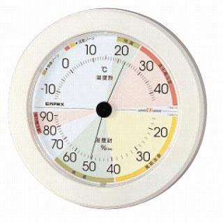 【まとめ買い10個セット品】高精度 UD温・湿度計 EX-2861【 温度計 室内用温度計 】 【ECJ】