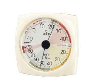 【まとめ買い10個セット品】『 温度計 室内用温度計 』高精度 UD温・湿度計 EX-2811