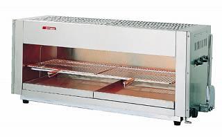 『 焼き物器 グリラー 』アサヒサンレッド 上火式グリラー SG-1200H LPガス【 メーカー直送/代金引換決済不可 】