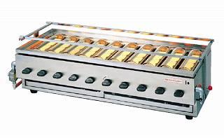 『 焼き物器 グリラー 』アサヒサンレッド 黒潮10号 SG-28K LPガス【 メーカー直送/代金引換決済不可 】