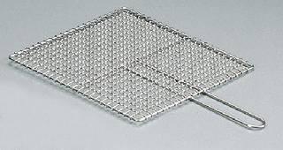 【まとめ買い10個セット品】SA業務用焼物網・タフロス シングル取手 33号