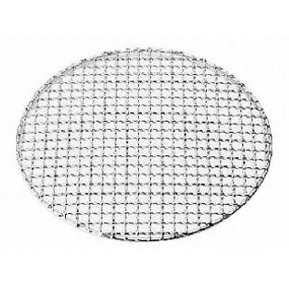 【まとめ買い10個セット品】SA18-8クリンプ目丸焼網・タフマル 29cm