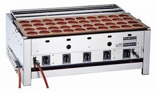『 大判焼き器 』今川焼器 [銅一枚板] EGI-60 都市ガス【 メーカー直送/代金引換決済不可 】