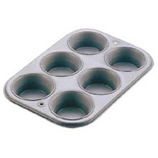 【まとめ買い10個セット品】アルブリット マフィンパン型 6P No.5251【 ケーキ型 焼き型 マフィン型 シリコン 】【 ケーキ焼き型 】 【ECJ】