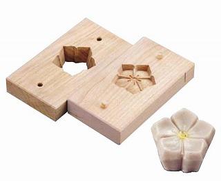『物相型 和菓子 お菓子作り』手彫物相型[上生菓子用] キキョウ