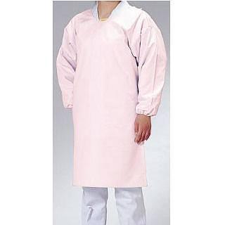 【まとめ買い10個セット品】ウルトラ・ドライエプロン 袖付タイプ E1204-4 ピンク 【 前掛け エプロン 前掛け 】