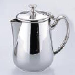 【まとめ買い10個セット品】UK18-8プレスト シリーズ ミルクポット 3~5人用 【 コーヒー関連商品 】