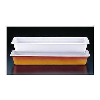 ロイヤル陶器製 角ガストロノームパン PB625-24 2/4 ホワイト 【 スタンドセット サラダバー フードバー 】