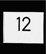 【まとめ買い10個セット品】SW テーブルナンバースタンド プレート 角形小 【ECJ】