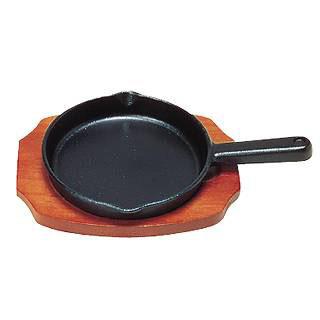 【まとめ買い10個セット品】[S]ステーキ皿 手付丸型 B 19cm IH対応 【 スキレット 】