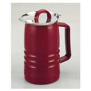 【まとめ買い10個セット品】SAお湯割ポット 0.75L ワインカラー【 バー用品 卓上ポット 】 【ECJ】