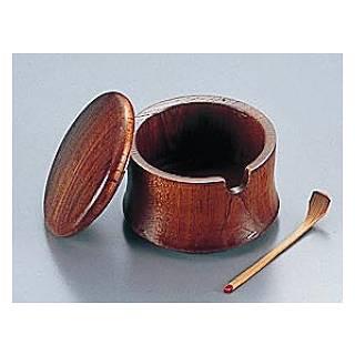 【まとめ買い10個セット品】『 カラシ入れ 』木製 薬味入 SB-708