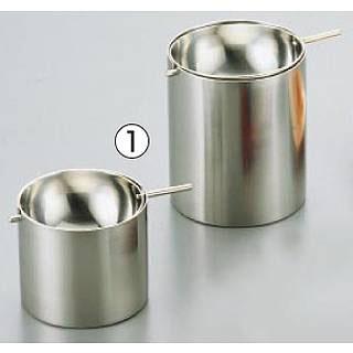 【まとめ買い10個セット品】『 灰皿 アッシュトレイ 』SA18-8回転灰皿 小