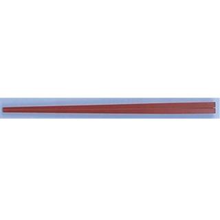 ニューエコレン中華箸 ノーマル 23cm レッド[50膳入]