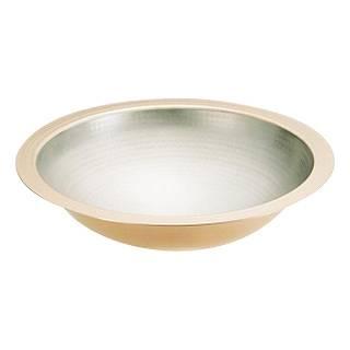 【まとめ買い10個セット品】SA 銅 うどんすき鍋[槌目入] 33cm[卓上鍋関連品] 【 料理宴会用 うどんすき鍋 】