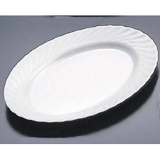 【まとめ買い10個セット品】トリアノン 楕円皿(大) D6877 【ECJ】