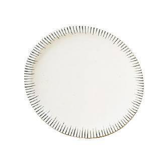 【まとめ買い10個セット品】メラミン「とくさ」 高台皿 [1尺2寸] E-35