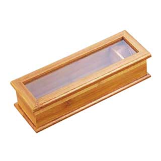 【まとめ買い10個セット品】竹製箸箱 【 キッチン小物 箸箱 】